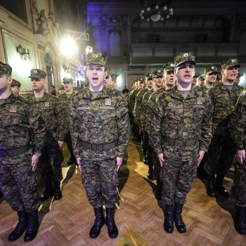 Prijem 6. klase oficira OS Bosne i Hercegovine