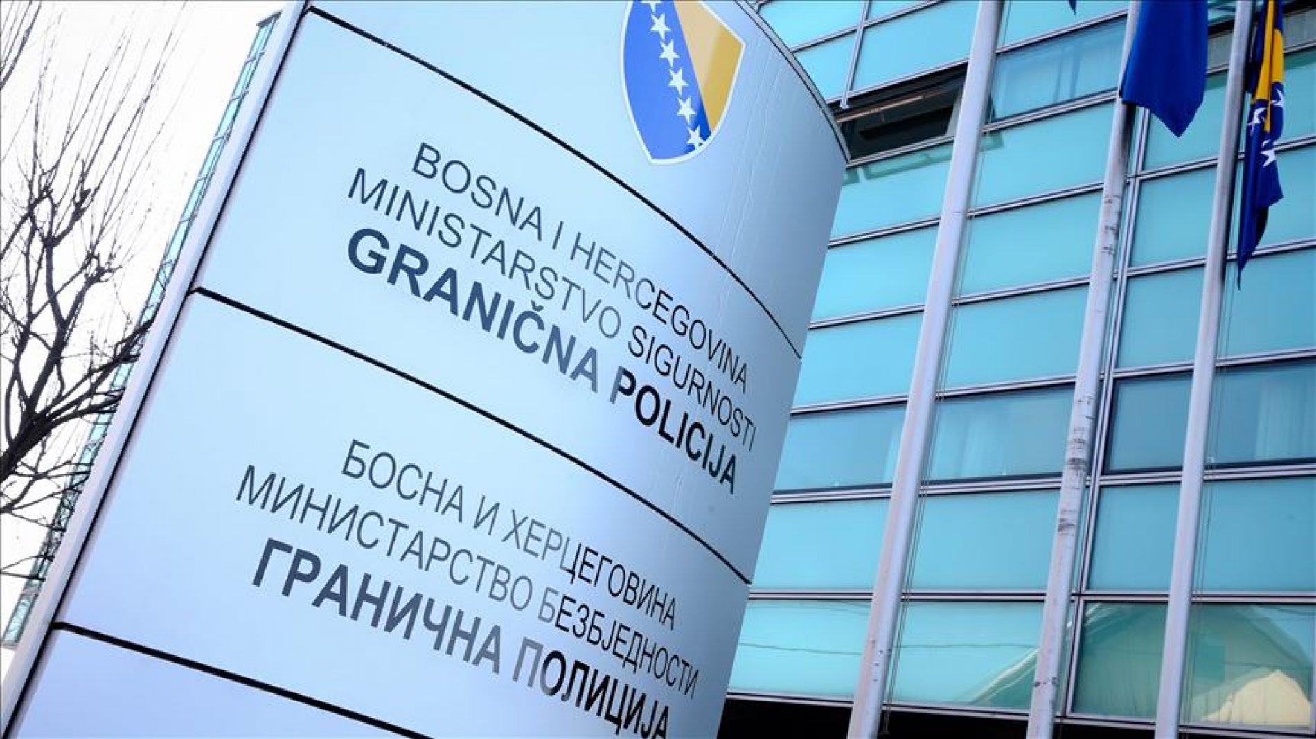 Granična policija: Zbog koruptivnih djela, slobode lišeno pet policijskih službenika