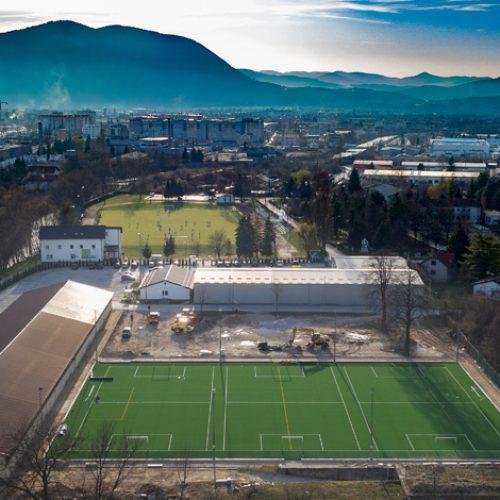 Centar 'Safet Zajko' postaje bogatiji za još jedan fudbalski stadion sa umjetnom travom