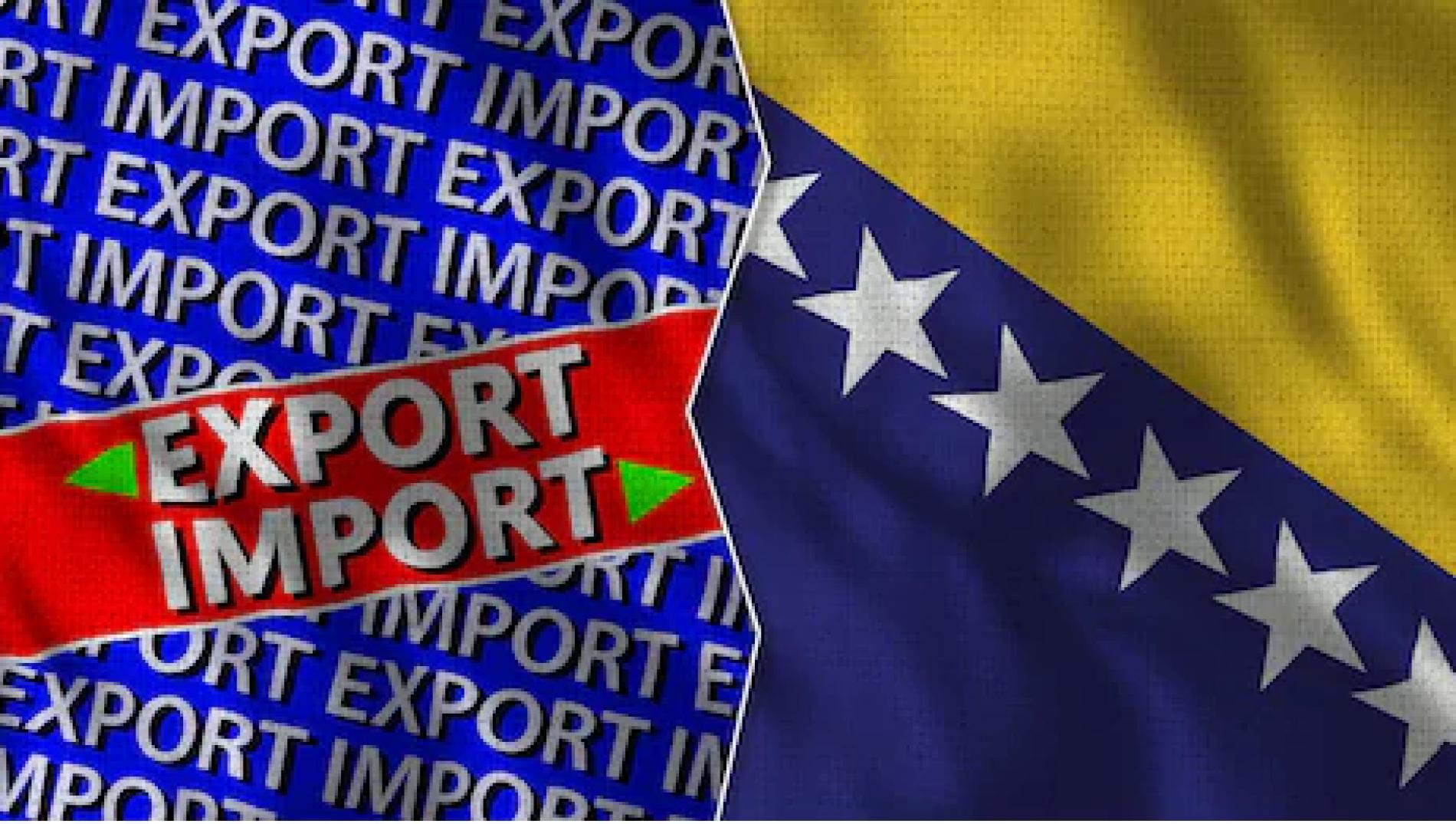 Uvoz i izvoz roba iz Bosne i Hercegovine obavlja se normalno