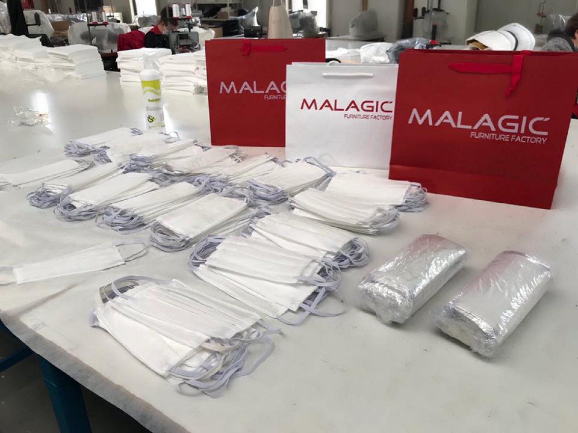 Brčanski 'Malagić' proizvodi maske i dijeli sugrađanima