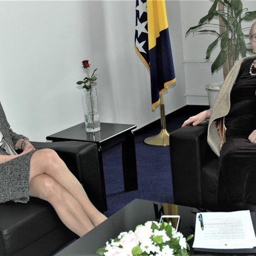 Ministrica vanjskih poslova založila se da Austrija prizna našu nacionalnu manjinu