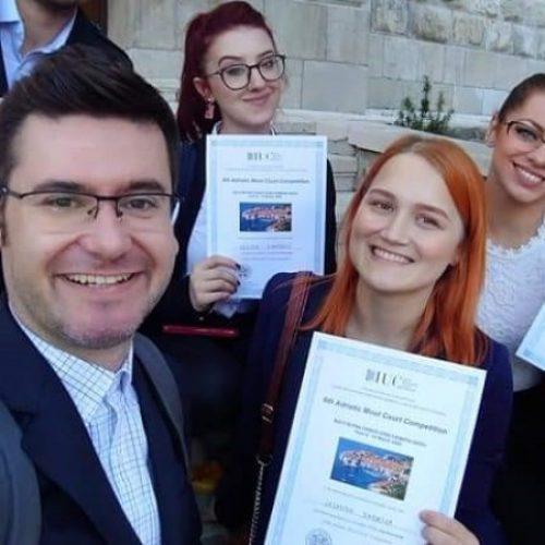 Zenički studenti prava osvojili prva tri mjesta na međunarodnom takmičenju u Dubrovniku