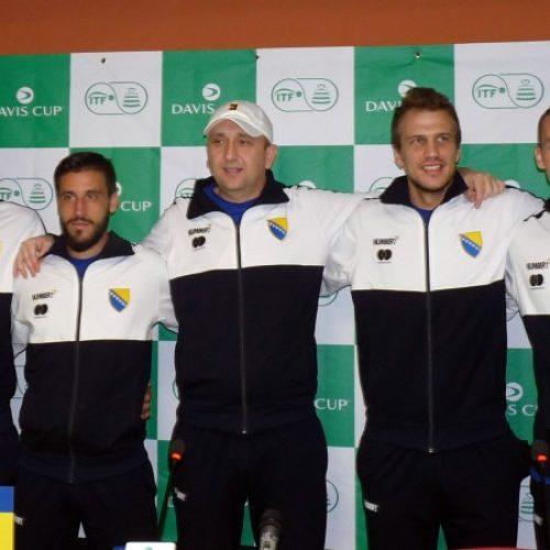 Davis Cup: Bosna i Hercegovina u najjačem sastavu protiv Južnoafričke Republike
