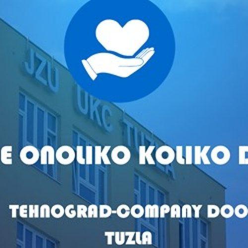 Kompanija 'Tehnograd' donira 1000 zaštitnih odijela UKC-u Tuzla