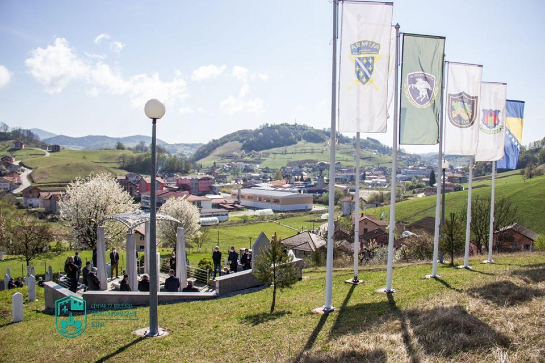 U Bužimu obilježen 15. april, Dan Armije Bosne i Hercegovine