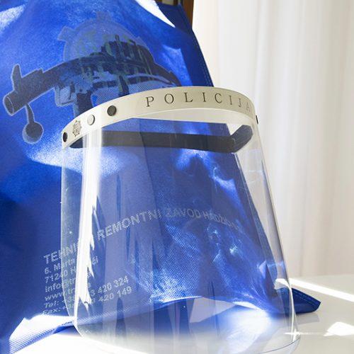 Zaštitne maske i viziri visokog kvaliteta proizvedeni u TRZ Hadžići