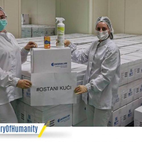 Bosnalijek pored snabdijevanje medicinskih ustanova i građana, donira i lijekove