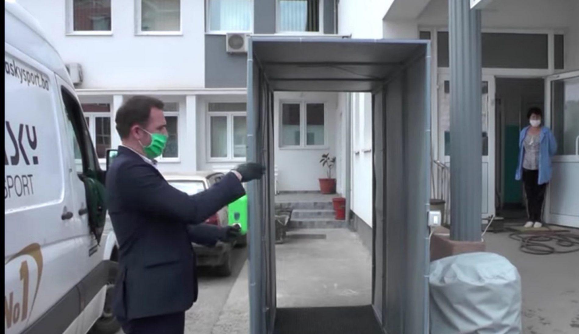 Absolute Group iz Travnika donirao dezinfekcione tunele
