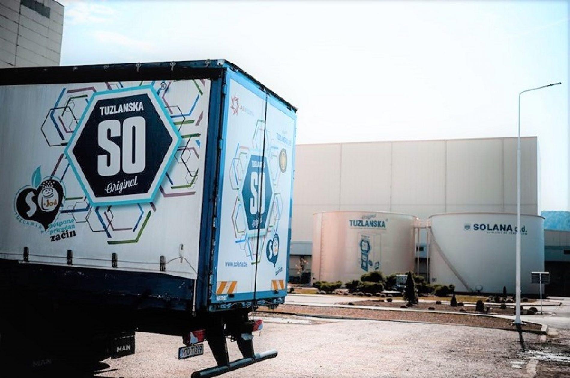 AS Holding se vraća na Kosovo: Otpremljeni prvi kamioni Tuzlanske soli