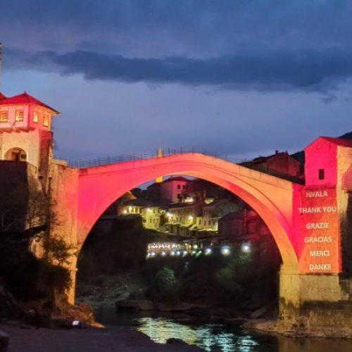 Mostar uputio zahvalu zdravstvenim radnicima