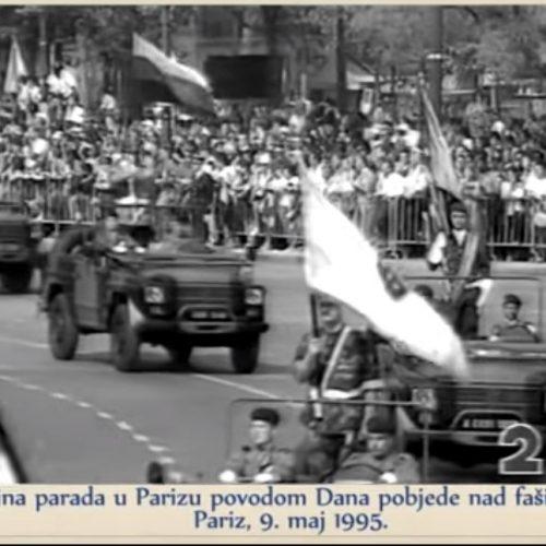Povodom Dana pobjede nad fašizmom, Dana Evrope i Dana zlatnih ljiljana