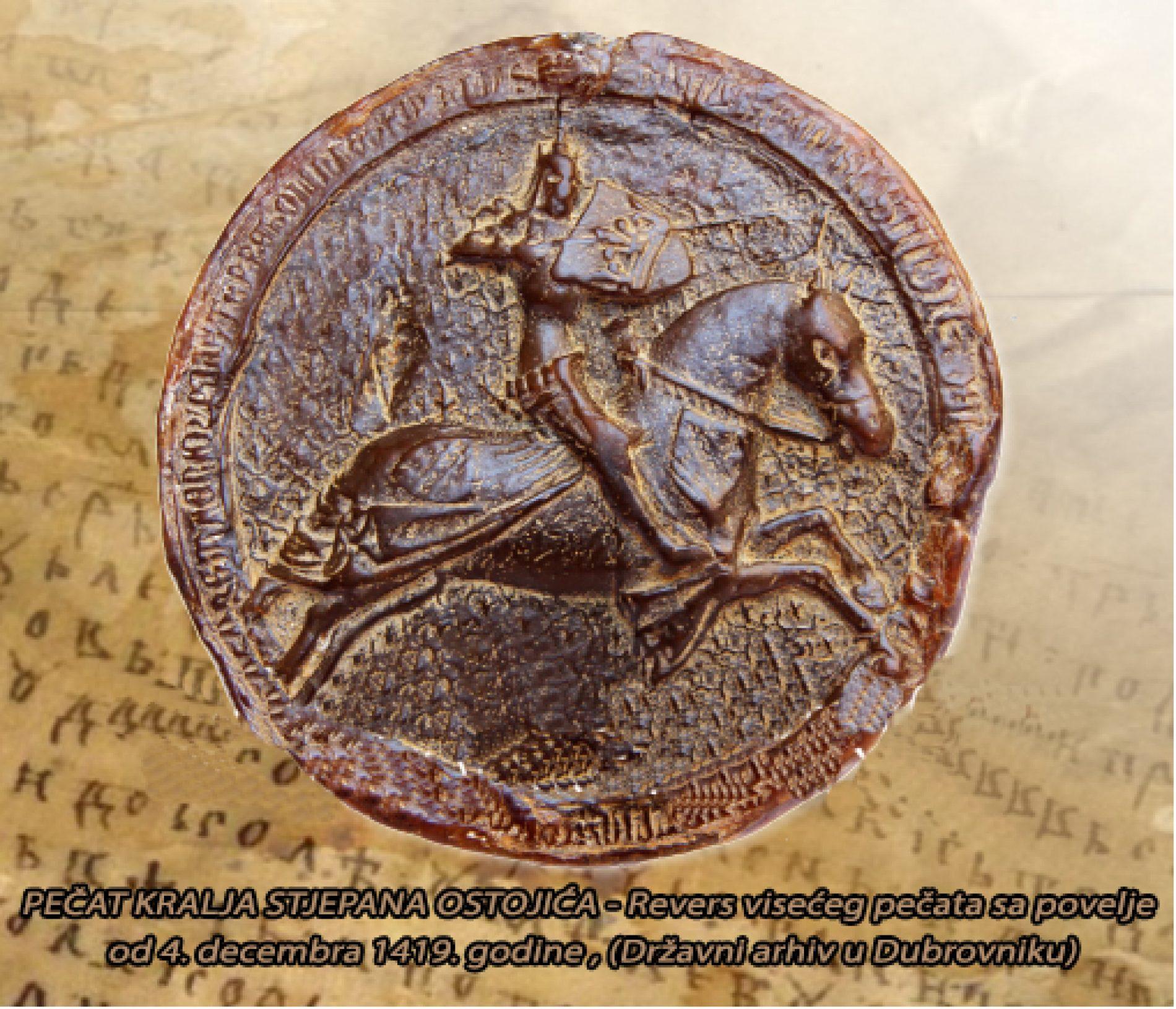 "Online izložba ""Srednjovjekovne povelje i pečati bosanskih vladara i vlastele"""