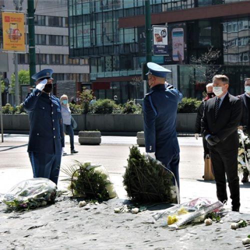 Komšić odao počast ubijenoj djeci opkoljenog Sarajeva