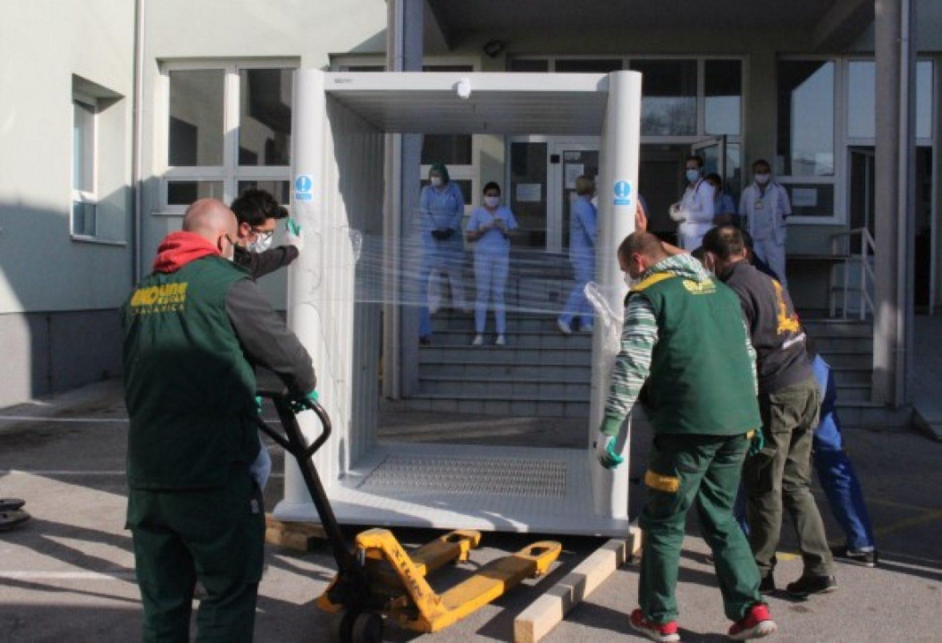 Gračanički Kovan tunele za dezinfekciju plasira i na inostrano tržište