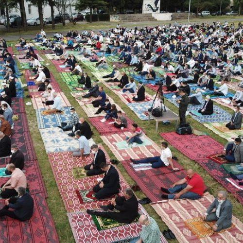 Bajram namaz na području MIZ Mostar klanjan u 40 džamija