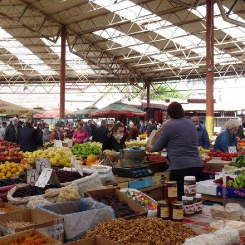 Gradska tržnica u Zenici ponovo radi u punom kapacitetu