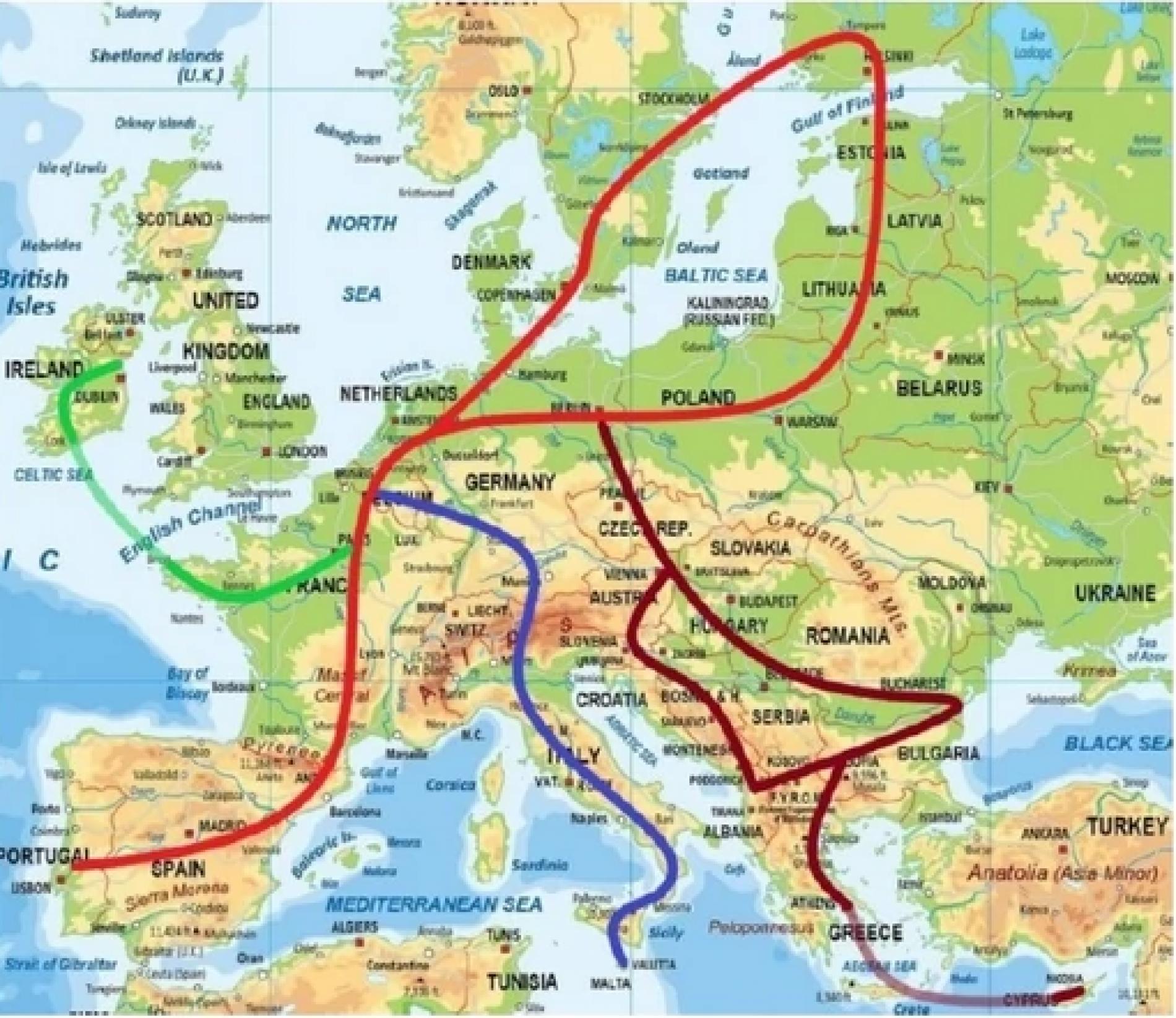 Ultra brzi vozovi mogli bi povezati cijelu Evropu; kroz Bosnu jedna od najdužih pruga