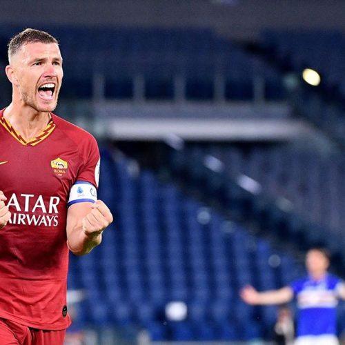 Trener Rome o golovima Edina Džeke: To je nešto što mogu uraditi samo najveći