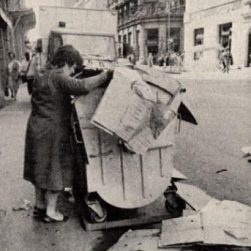 Život u bivšoj Jugoslaviji: Hljeb iz kontejnera