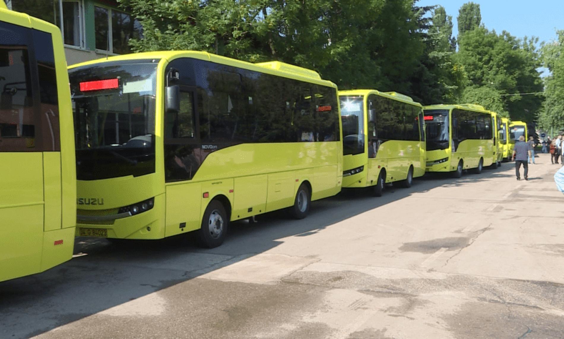 GRAS dobio nove minibuse