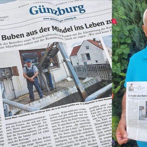 Herojski čin Bosanca u Njemačkoj: Davud Mešić spasio trogodišnjeg dječaka