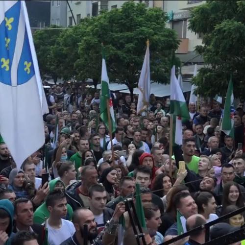 Poruka iz N. Pazara uoči izbora: Hoćemo pokrajinu Sandžak (Video)