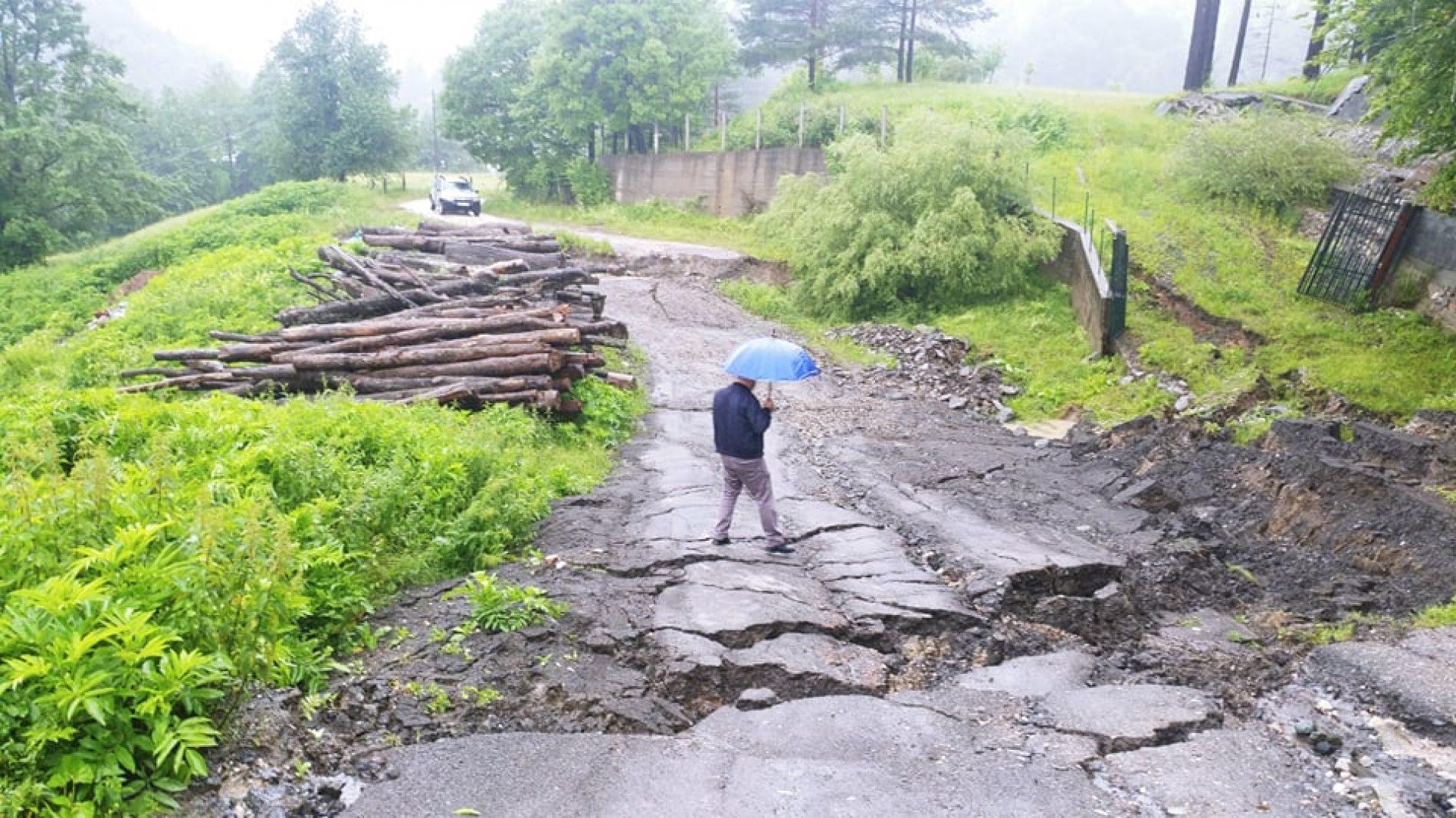Obilne padavine izazvale brojne probleme; voda se povlači u TK