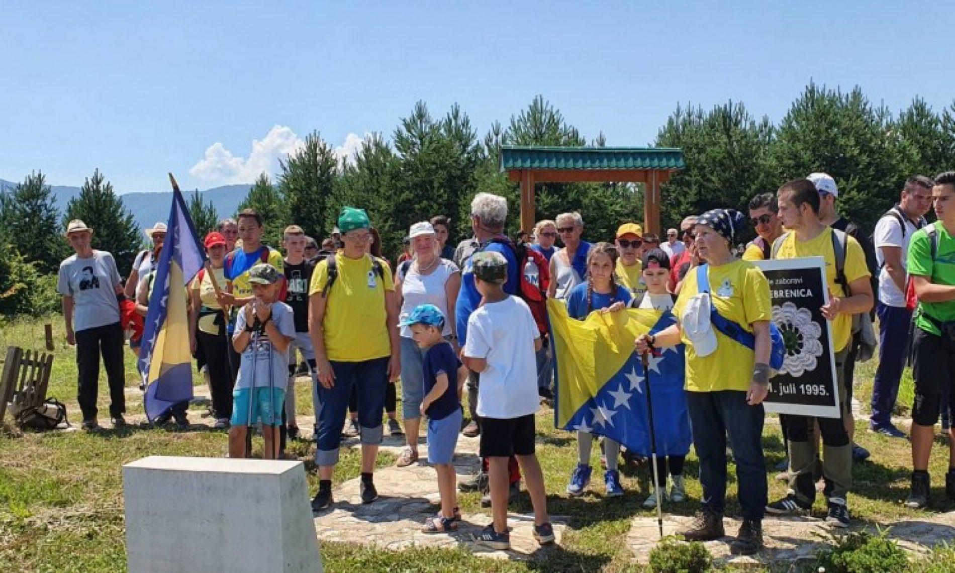 Goražde, odata počast žrtvama genocida u Srebrenici