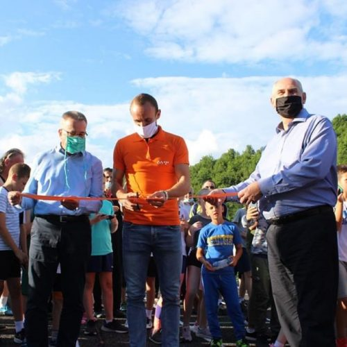 Amel Tuka u Konjicu otvorio atletsku stazu po IAAF standardu