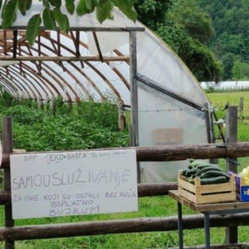 Imširevići besplatno dijele povrće ljudima koji su ostali bez posla