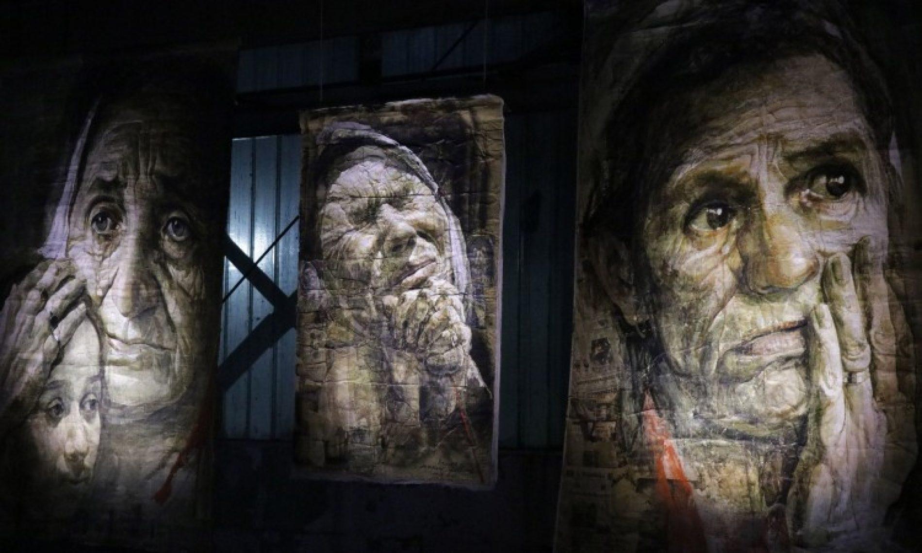 U Potočarima otvorena epska izložba 'Exodus' maestralnog Safeta Zeca