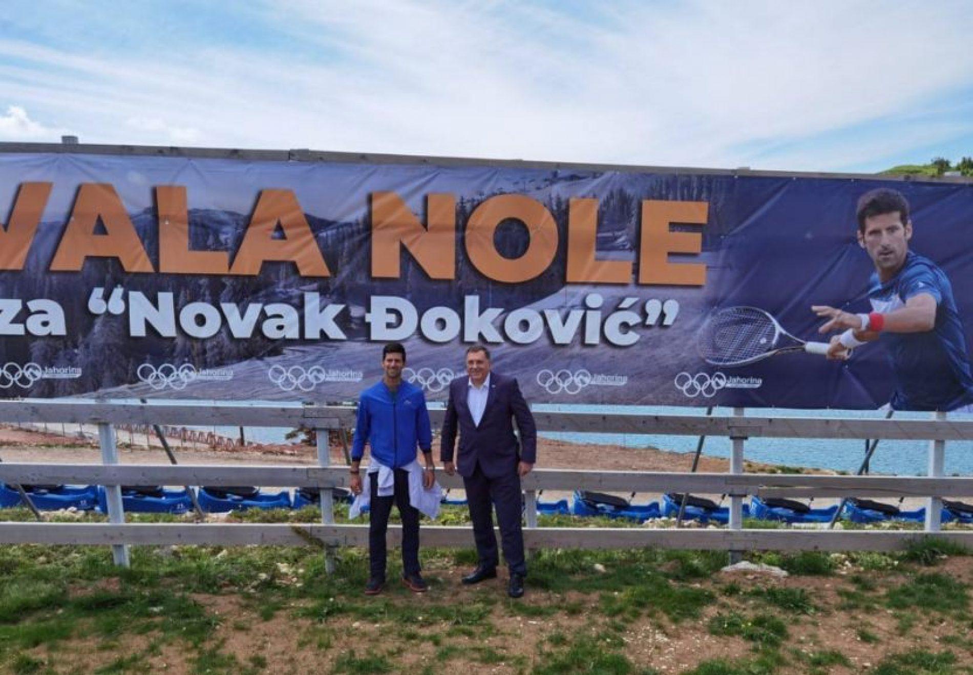 Dragan Bursać: Prvi reket svijeta i Novak Đoković!