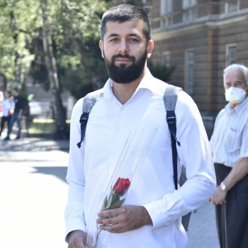 Mahir Omerović iz Konjević Polja: Došao sam danas da ispratim svoje sugrađane, mladi ljudi trebaju posebno da njeguju kulturu sjećanja na genocid