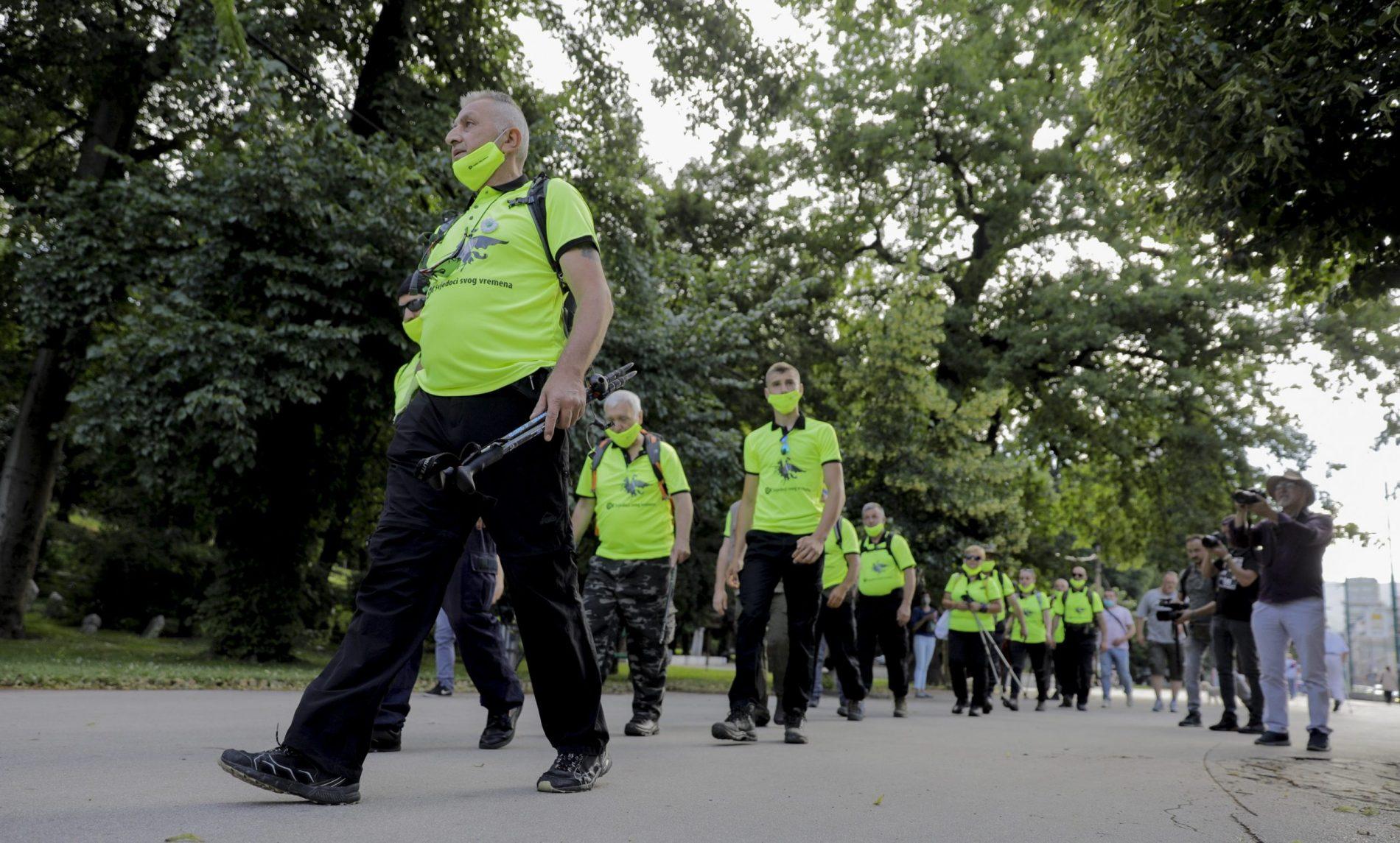 Krenuo Marš mira Sarajevo – Nezuk