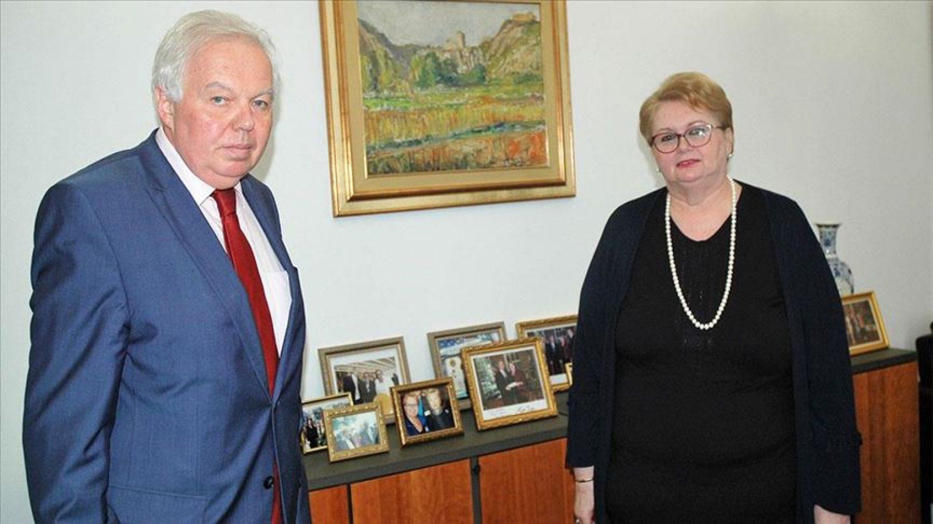 Ruski ambasador  na informativnom razgovoru u MVP Bosne i Hercegovine