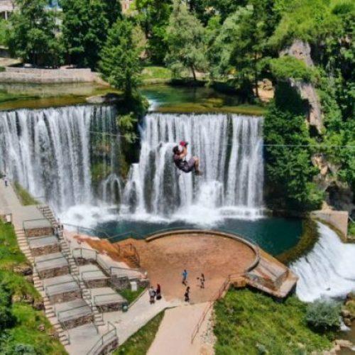 Nova turistička ponuda Jajca – zip-line preko jednog od najljepših vodopada na svijetu