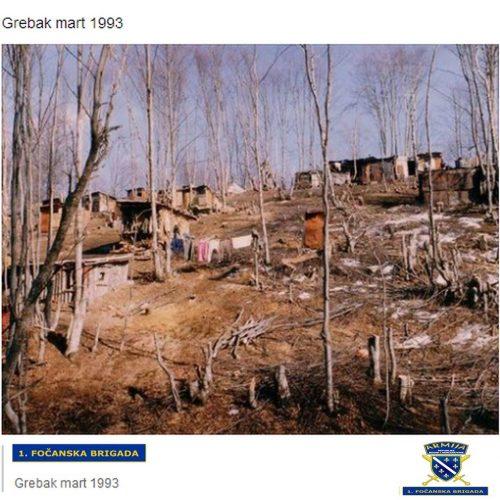 Grebak je bio spas izgladnjelom stanovništvu i ranjenicima tokom opsade Goražda