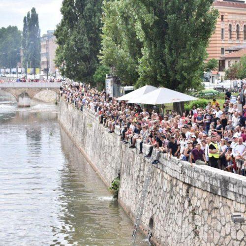 Sarajevo: Skokovi na Bentbaši 22. augusta, ograničen broj gledalaca