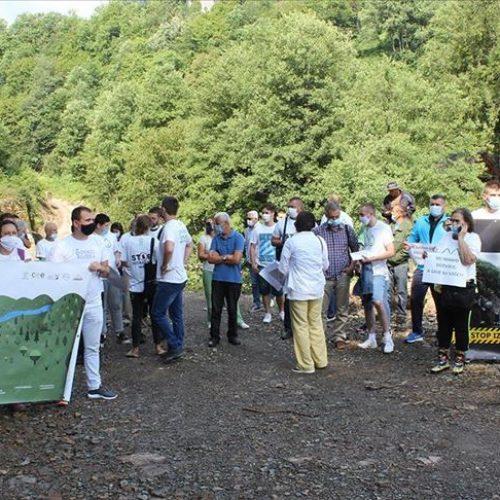 Građani Foče na novim protestima protiv izgradnje malih hidroelektrana