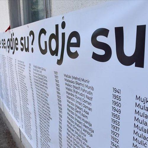 Međunarodni dan nestalih: Tokom agresije na Bosnu i Hercegovinu nestalo oko 35.000 osoba