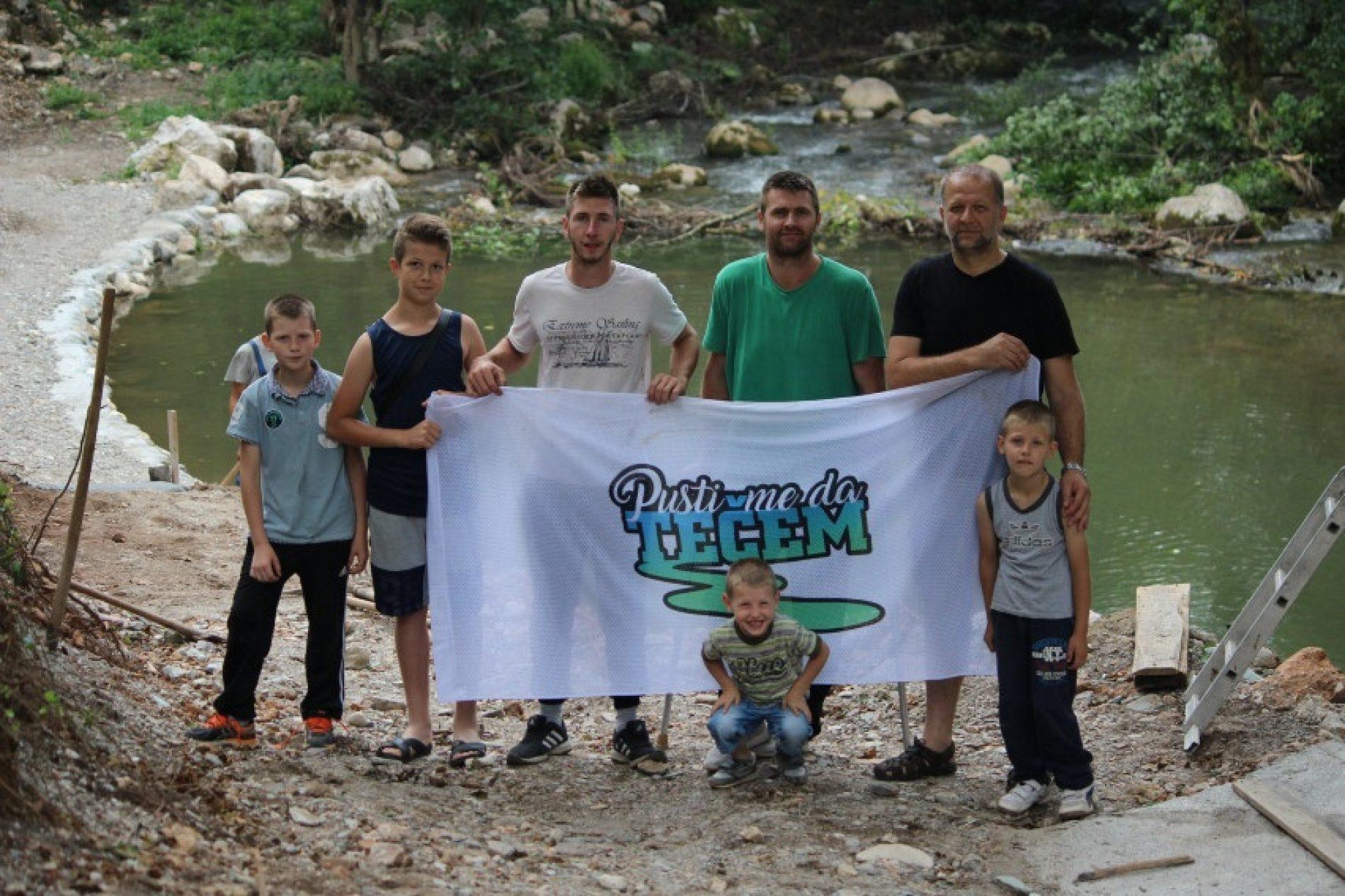 Kupalištima i besplatnim kampovima protiv izgradnje MHE na rijeci Neretvici