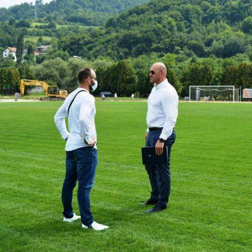 Ministarstvo kulture i sporta KS sufinansira izgradnju bazena na Dobrinji, te  atletske staze u Vogošći