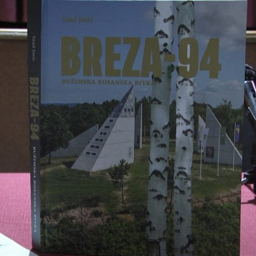 """Bosanska Krupa: Upriličena promocija knjige  """"Breza '94 – Bužimska bosanska bitka"""""""