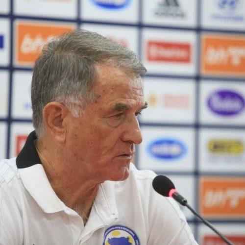 Bajević odabrao igrače za oktobarske utakmice reprezentacije Bosne i Hercegovine