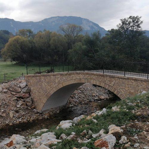 """Trnovo: Izgrađen most na rijeci Bijeloj; U toku izgradnja """"Kuće spasa"""" na Bjelašnici"""
