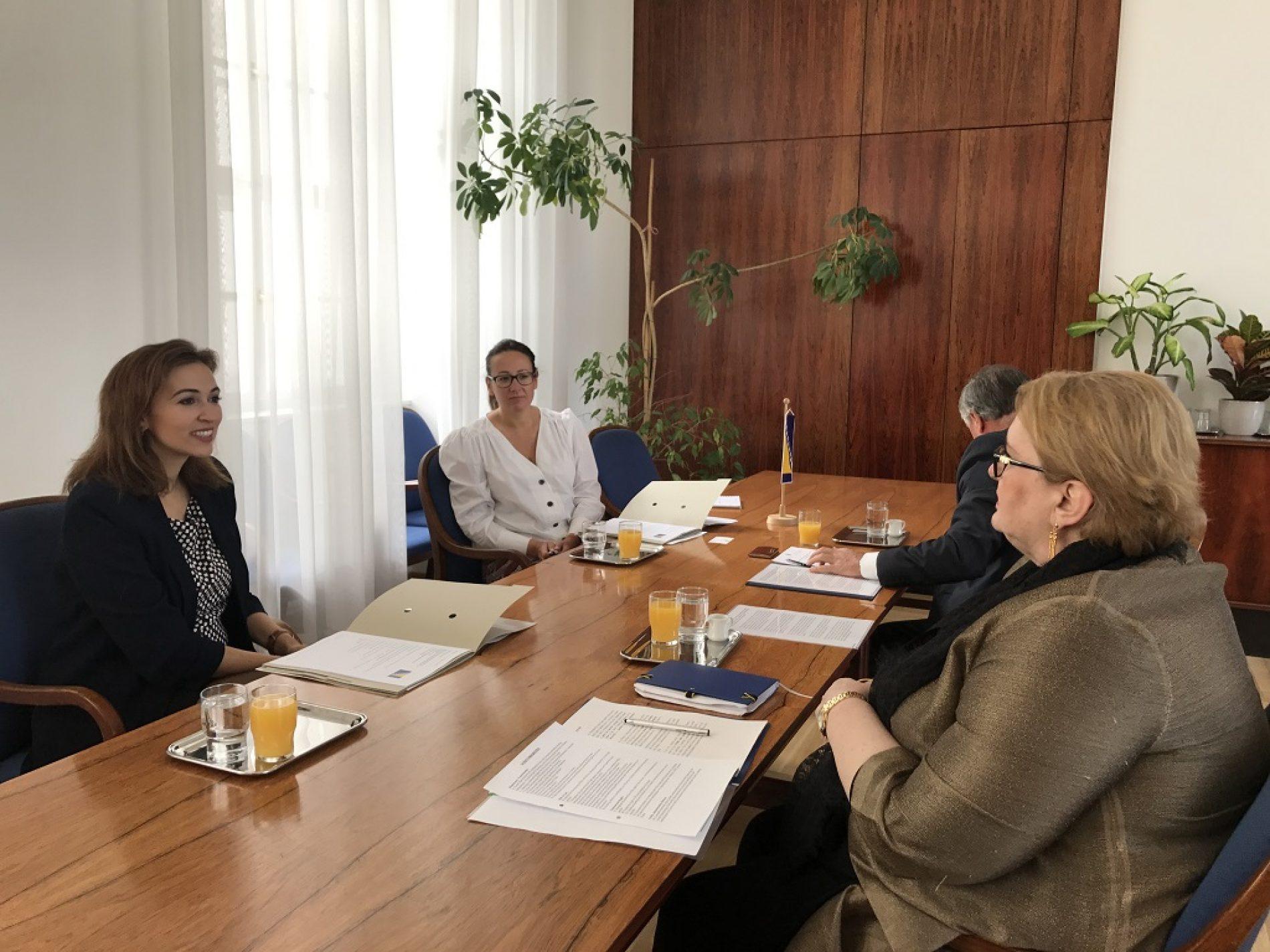Ministrica vanjskih poslova Bosne i Hercegovine  razgovarala sa ministricom pravde R. Austrije