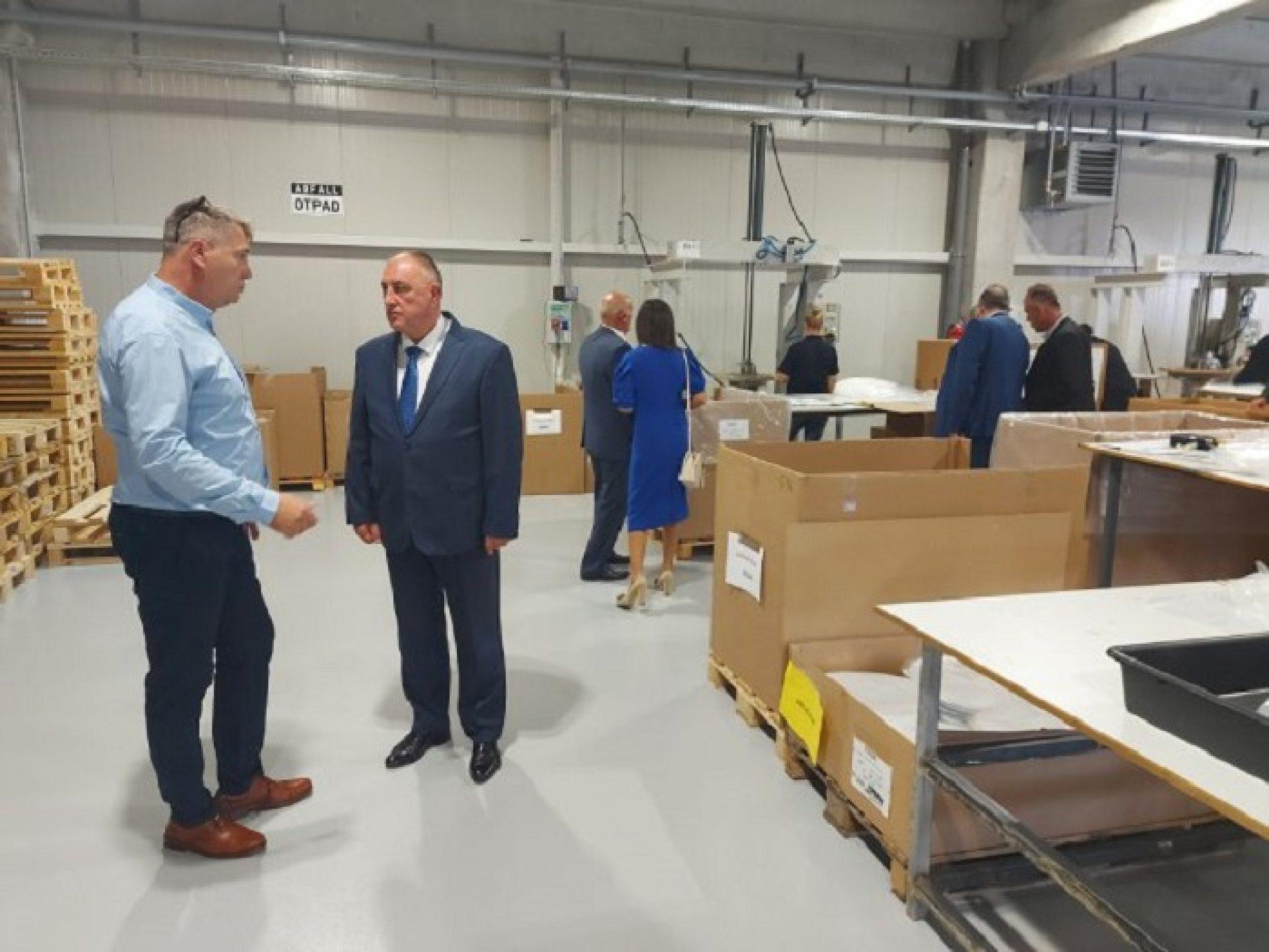 Na inicijativu dijaspore: Njemačka firma otvorila pogon u Prijedoru