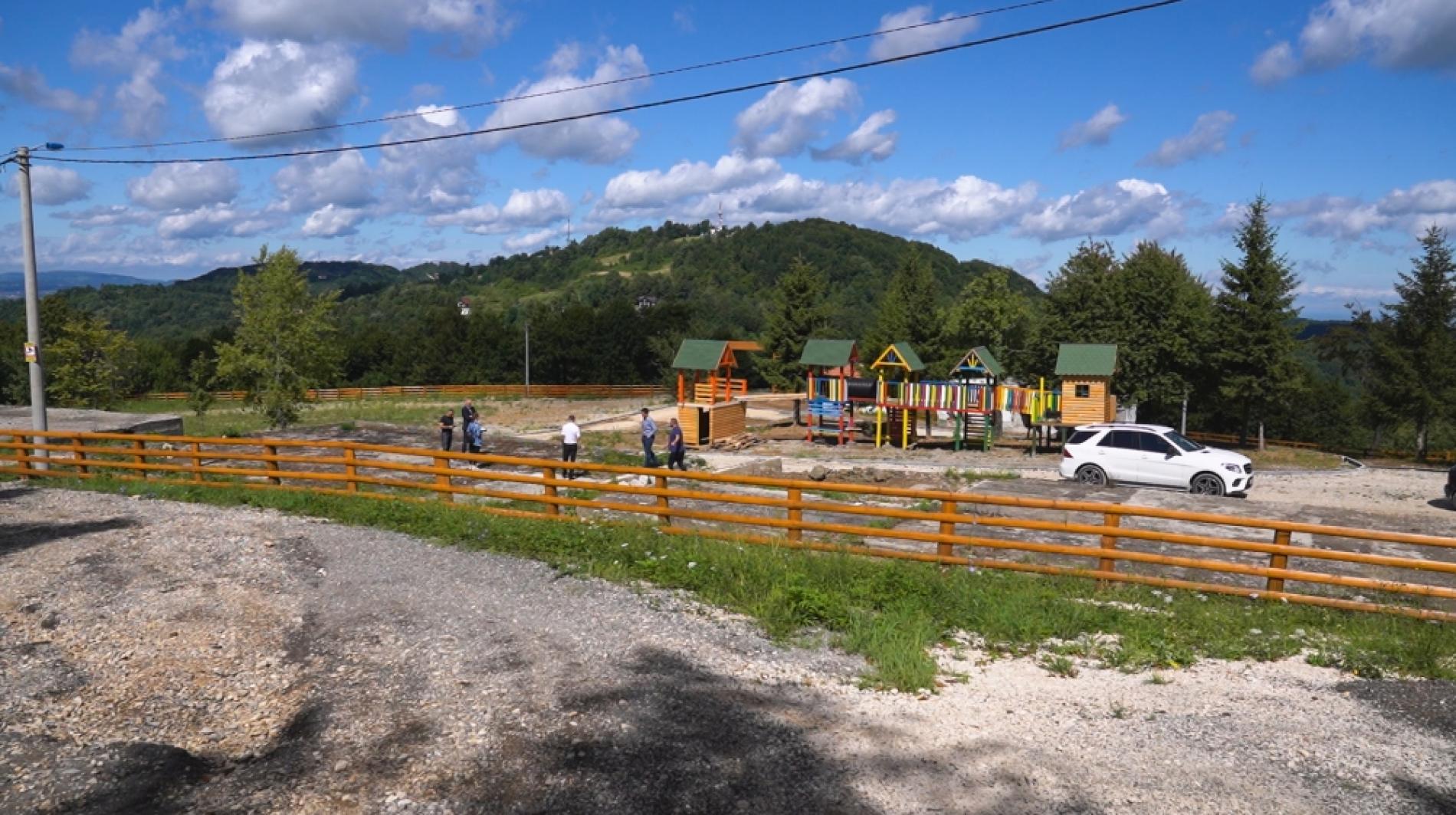 Srebrenik: Turistički kompleks na planini Majevici