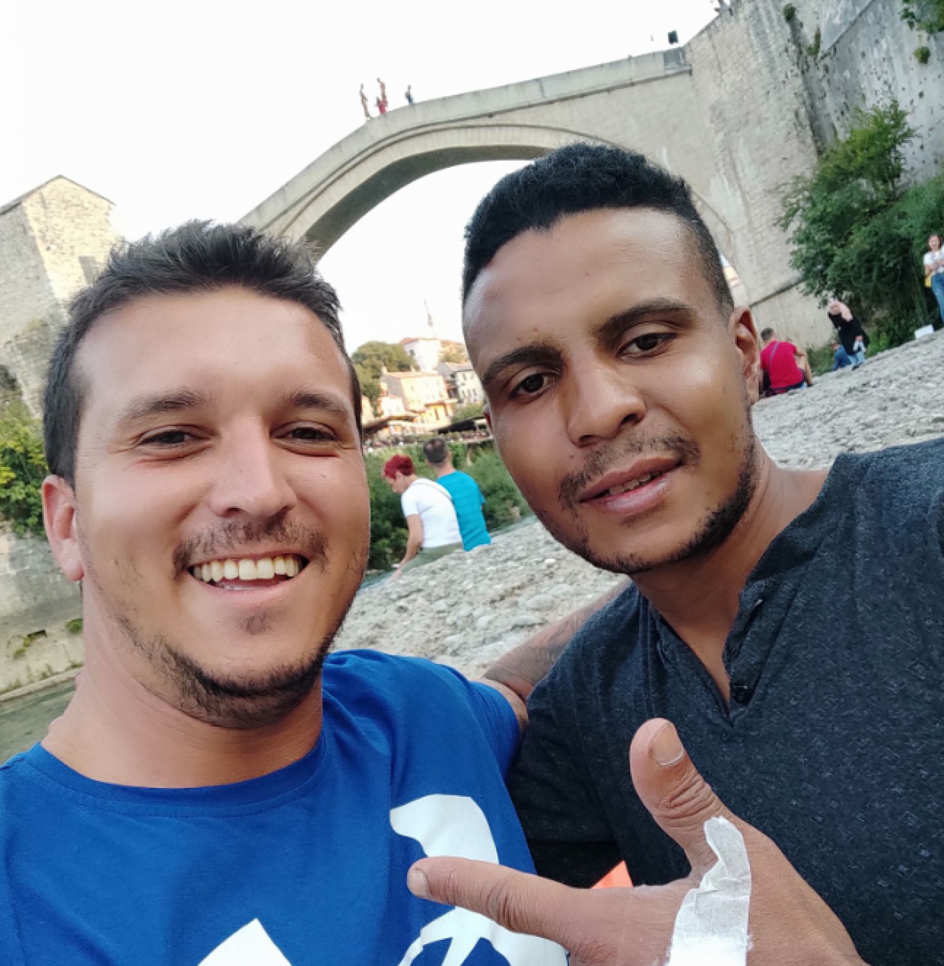 Bivši fudbaler Veleža sa kolegom spasio migranta od utapanja u Neretvi